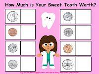 Money/Dental Health Printable Games