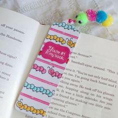 DIY bookmark- cute and sweet!