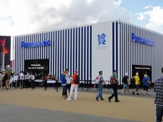PANASONIC (Best): What better way to showcase your 3D screens than to let Olympic fans experience them in real life? Despite the long lines, this venue was one of the hottest attractions inside the Olympic Park to kill time between events.