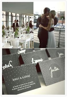 I don't think I am cool enough to get away with putting Dashboard lyrics on anything having to do with my wedding, but I can still dream...