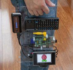 Raspberry Pi Portable (SK Pang)...so want this!