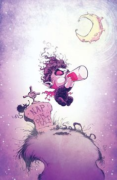 Morbius: The Living Vampire #1. Young Baby Variant by Skottie Young.