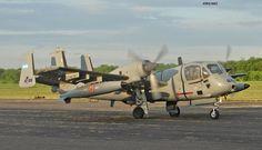 Grumman OV-1D Mohawk matricula AE-039