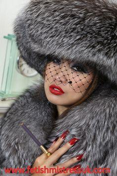 Beautiful in Silver Fox Fur's