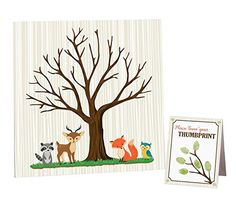 "Product review for Lillian Rose Woodland Baby Shower Guest Signing Canvas, Neutral, 11.75"" -  Lillian Rose Woodland Baby Shower Guest 11.75"" Signing Canvas. Create a special keepsake for the mommy-to-be to take home and add to the nursery. This one of a kind guest book alternative features a tree and little woodland animals, perfect for a boy or girl. Signing canvas measures... -  http://www.bestselleroutlet.net/product-review-for-lillian-rose-woodland-baby-shower-gues"