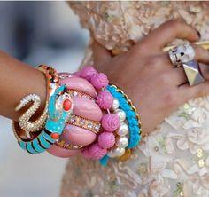 jewelry making And jewelry making ideas jewelry organizer jewelry display for jewelry storage jewelry fashion jewelry jewelry Handmade Bracelets, Bangle Bracelets, Bangles, Jewelry Accessories, Fashion Accessories, Fashion Jewelry, Fall Jewelry, Summer Jewelry, Jewelry Trends