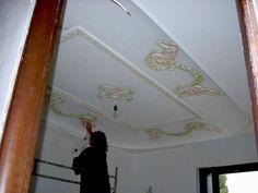 Dipingere artisticamente gli stucchi decorativi