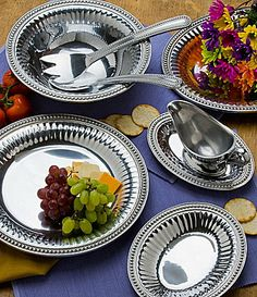 """Wilton Armetale """"Flutes and Pearls.""""  Almost have the whole collection! Love this pattern!"""