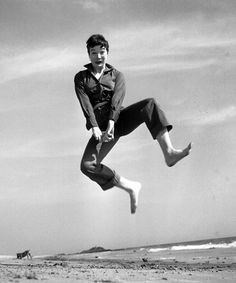 Shirley MacLaine by Philippe Halsman (Jumpology)