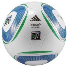 adidas MLS Soccer Ball - Soccer - Sport Equipment - White/Cobalt/Fairway