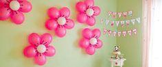 Risultati immagini per decorazioni compleanno bambina