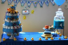 Lil Community: Rubber Ducky Boy Baby Shower
