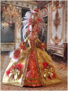 Ooak Barbie as Marie Antoinette ...47.18.6 qw