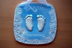 1000 Images About Baby Hand Foot Print Cast Art On