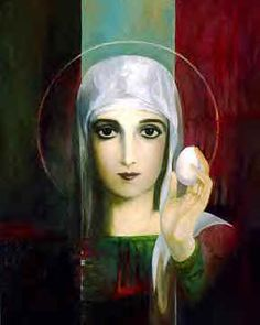 Don't know why we dye Easter eggs?  Thank the fabulous (not whorey) Mary Magdalene...