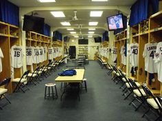 Image Result For Baseball Locker Room Cubbies
