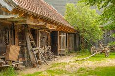 Ethnographic museum Goligow -Poland / Skansen w Kuligowie nad Bugiem.