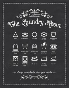 printable - Laundry room