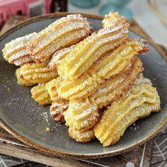 biscuiti de casa spritati is part of Dessert recipes - Sweets Recipes, Cake Recipes, Cooking Recipes, Summer Desserts, Easy Desserts, Romanian Food, Us Foods, Casserole Recipes, Food To Make