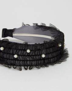 Bild 2 von Limited Edition – Breites gerüschtes Haarband