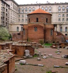 Roman 4th Century Church of St. George, Sophia, Bulgaria Copyright: Aleksandar Dekanski