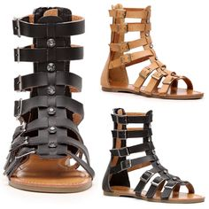 Gladiator sandals just in at Sophie And Trey for only $24.99