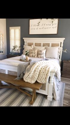 8 Most Simple Tips Can Change Your Life: Modern Master Bedroom Remodel bedroom remodel pictures.Simple Bedroom Remodel Gray bedroom remodel before and after rugs. Master Bedroom Design, Dream Bedroom, Girls Bedroom, Bedroom Designs, Master Bedrooms, Bedroom Décor, Guest Bedrooms, Bedroom Stuff, Cozy Master Bedroom Ideas