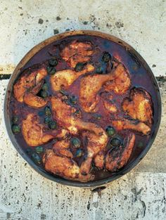 Hunter's chicken stew (Pollo alla cacciatora) l Jamie Oliver Chicken Cacciatore, Chicken Karahi, Cacciatore Recipes, Chicken Curry, Stew Chicken Recipe, Chicken Recipes, Chicken Gravy, Gastronomia, Gourmet