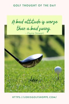 Golf tip of the day from Payne Stewart