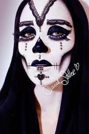 Resultado de imagen para maquillaje de halloween para bruja blanca