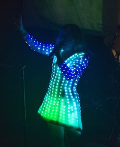 Little Boots' Cyber Cinderella LED Dress   Video   The Creators Project