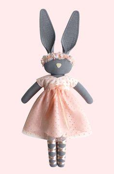 :: Crafty :: Doll :: Animalia :: Fabric Bunny - navyplum.com