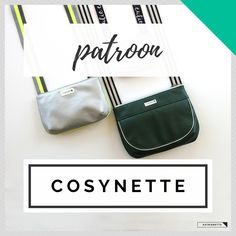 COSYNETTE het patroon Fabric Remnants, One Bag, Pattern Drawing, Green Bag, Photo Tutorial, Light Beige, Easy Projects, Travel Bag, Sewing Patterns