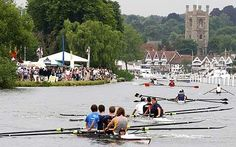 Henley Regatta, Henley-on-Thames, UK