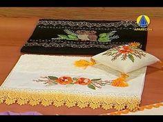 ▶ Sabor de Vida | Toalha em Bordado Indiano - 13 de Setembro de 2012 - YouTube