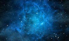Blue Nebula Space
