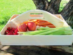 Handmade Wood Garden Caddy with handle by DivineRusticCreation, $49.95