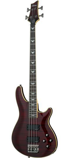 Schecter Omen Extreme-4 Electric Bass in Black Cherry
