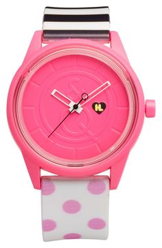 Love the pop art design on this watch!