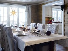 Jul på hytta - Se denne flotte hytta - Hyttebesøk