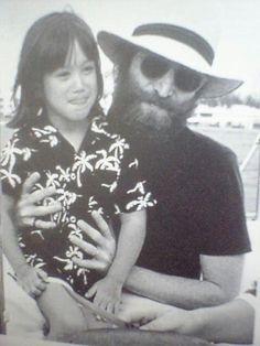 John with Sean in Bermuda 1980