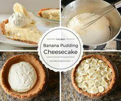 Banana Pudding Cheesecake ---> http://tipsalud.com