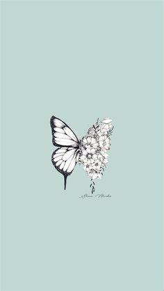 Wallpaper Butterfly In 2020 | Aesthetic Wallpapers