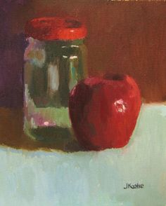 Oil Painting Color Study Still Life 5x7 Oil on by JKArtStudio, $50.00