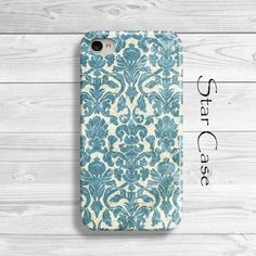 iPhone 4/ 4s and 5 Case - Vintage Damask - Retro Cell Phone Cover - iPhone Hard Case- Old Damask Floral Lace Pretty on Etsy, $19.99