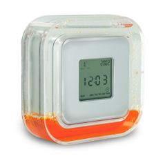 @ShopAndThinkBig.com - The Cube Clock Does Much More Than Tell The Time. By Flipping The Clock To Stand On Each Of Its Four Sides, You Can Go From Viewing The Time, To A Calendar, To A Count Down Timer, And Finally To The Temperature. Each Side Is Labeled With The Corresponding Display And The Cube Automatically Changes To Reflect Each Feature. The Clock Features Displays The Time, Date, And Day Of The Week And Includes A Convenient Alarm Clock Feature While The Temperature Feature Can Be…