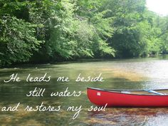 Lead me beside the still waters and restore my soul, Lord. Bible Psalms, Psalm 23, Bible Scriptures, Scripture Verses, Word Of Faith, Walk By Faith, Word Of God, Presence Quotes, Beside Still Waters