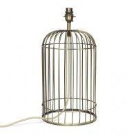 Стильная база для настольной лампы в виде клетки для птиц WHITSTABLE ANTIQUE