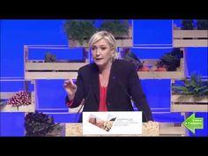 Marine LE PEN au Congrès des Agriculteurs à BREST (30/03/17) Discours CO... Marine Le Pen, Brest, Youtube, Farmers, Youtubers