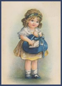 Vintage Children on Pinterest | Bessie Pease Gutmann, Vintage ...